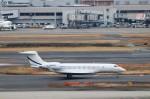 ハム太郎。さんが、羽田空港で撮影したユタ銀行 G650 (G-VI)の航空フォト(飛行機 写真・画像)