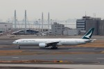 ハム太郎。さんが、羽田空港で撮影したキャセイパシフィック航空 777-367/ERの航空フォト(飛行機 写真・画像)