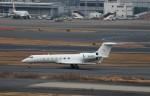 ハム太郎。さんが、羽田空港で撮影した金鹿航空 G500/G550 (G-V)の航空フォト(飛行機 写真・画像)