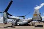 ★azusa★さんが、シンガポール・チャンギ国際空港で撮影したアメリカ海兵隊 MV-22Bの航空フォト(飛行機 写真・画像)