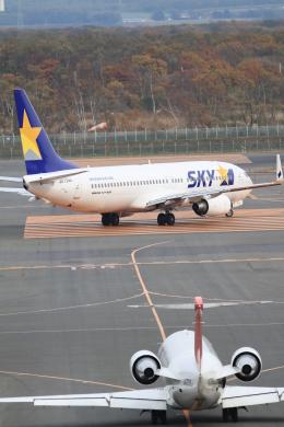 TAK_HND_NRTさんが、新千歳空港で撮影したスカイマーク 737-8HXの航空フォト(飛行機 写真・画像)