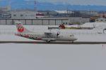 空猫@Mighty_Shrikesさんが、札幌飛行場で撮影した北海道エアシステム ATR-42-600の航空フォト(飛行機 写真・画像)