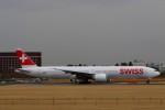 ☆ライダーさんが、成田国際空港で撮影したスイスインターナショナルエアラインズ 777-3DE/ERの航空フォト(飛行機 写真・画像)