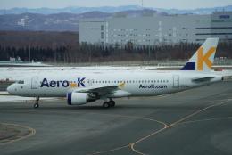 SFJ_capさんが、新千歳空港で撮影したエアロK A320-214の航空フォト(飛行機 写真・画像)