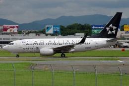 MOR1(新アカウント)さんが、福岡空港で撮影したユナイテッド航空 737-724の航空フォト(飛行機 写真・画像)