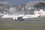 Shibataさんが、福岡空港で撮影した日本航空 A350-941XWBの航空フォト(飛行機 写真・画像)