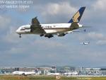 masarunphotosさんが、フランクフルト国際空港で撮影したシンガポール航空 A380-841の航空フォト(飛行機 写真・画像)