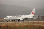 MIRAGE E.Rさんが、出雲空港で撮影した日本航空 737-846の航空フォト(飛行機 写真・画像)