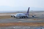 つっさんさんが、関西国際空港で撮影したタイ国際航空 A380-841の航空フォト(飛行機 写真・画像)