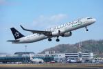 サボリーマンさんが、松山空港で撮影したエバー航空 A321-211の航空フォト(飛行機 写真・画像)