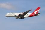 OMAさんが、シンガポール・チャンギ国際空港で撮影したカンタス航空 A380-842の航空フォト(飛行機 写真・画像)