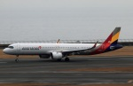 Wasawasa-isaoさんが、中部国際空港で撮影したアシアナ航空 A321-251NXの航空フォト(飛行機 写真・画像)