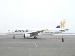 3secondsNEOさんが、新千歳空港で撮影したエアロK A320-214の航空フォト(飛行機 写真・画像)