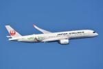 トロピカルさんが、羽田空港で撮影した日本航空 A350-941XWBの航空フォト(飛行機 写真・画像)
