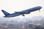 ゆう改めてさんが、伊丹空港で撮影したエアージャパン 767-381/ERの航空フォト(飛行機 写真・画像)