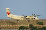 ちゃぽんさんが、那覇空港で撮影した琉球エアーコミューター DHC-8-402Q Dash 8 Combiの航空フォト(飛行機 写真・画像)