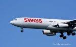 キットカットさんが、成田国際空港で撮影したスイスインターナショナルエアラインズ A340-313Xの航空フォト(飛行機 写真・画像)