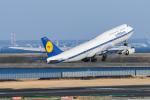あっくんkczさんが、羽田空港で撮影したルフトハンザドイツ航空 747-830の航空フォト(飛行機 写真・画像)