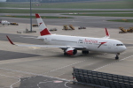 NIKEさんが、ウィーン国際空港で撮影したオーストリア航空 767-3Z9/ERの航空フォト(飛行機 写真・画像)