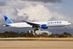 さくらの城南山。さんが、成田国際空港で撮影したユナイテッド航空 777-322/ERの航空フォト(飛行機 写真・画像)