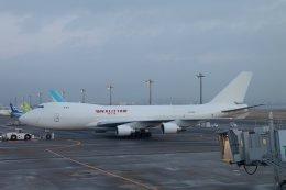 TKK744さんが、羽田空港で撮影したカリッタ エア 747-4B5F/SCDの航空フォト(飛行機 写真・画像)