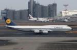 ハム太郎。さんが、羽田空港で撮影したルフトハンザドイツ航空 747-830の航空フォト(飛行機 写真・画像)
