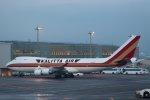 スカイチームKMJ なぁちゃんさんが、羽田空港で撮影したカリッタ エア 747-4B5F/SCDの航空フォト(飛行機 写真・画像)