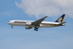 OMAさんが、シンガポール・チャンギ国際空港で撮影したシンガポール航空 777-212/ERの航空フォト(飛行機 写真・画像)