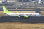 sky-spotterさんが、羽田空港で撮影したソラシド エア 737-881の航空フォト(飛行機 写真・画像)
