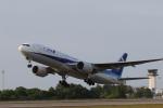 TAK_HND_NRTさんが、高松空港で撮影した全日空 777-281/ERの航空フォト(飛行機 写真・画像)