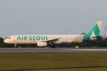 TAK_HND_NRTさんが、高松空港で撮影したエアソウル A321-231の航空フォト(飛行機 写真・画像)