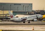 Cygnus00さんが、新千歳空港で撮影した日本トランスオーシャン航空 737-8Q3の航空フォト(飛行機 写真・画像)
