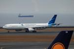 Wasawasa-isaoさんが、中部国際空港で撮影したガルーダ・インドネシア航空 A330-343Xの航空フォト(飛行機 写真・画像)