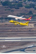LAX Spotterさんが、ロサンゼルス国際空港で撮影した香港航空 A350-941XWBの航空フォト(飛行機 写真・画像)