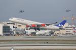 JA1118Dさんが、ロサンゼルス国際空港で撮影したスカンジナビア航空 A340-313Xの航空フォト(飛行機 写真・画像)