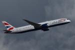 sepia2016さんが、成田国際空港で撮影したブリティッシュ・エアウェイズ 787-9の航空フォト(飛行機 写真・画像)