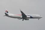 kuro2059さんが、ノイバイ国際空港で撮影したマレーシア航空 737-8H6の航空フォト(飛行機 写真・画像)