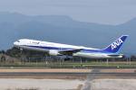 ワイエスさんが、鹿児島空港で撮影した全日空 767-381/ERの航空フォト(飛行機 写真・画像)