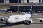JA8037さんが、羽田空港で撮影したルフトハンザドイツ航空 747-830の航空フォト(飛行機 写真・画像)