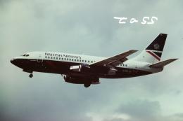 tassさんが、ロンドン・ヒースロー空港で撮影したブリティッシュ・エアウェイズ 737-236/Advの航空フォト(飛行機 写真・画像)