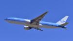 パンダさんが、成田国際空港で撮影したKLMオランダ航空 777-206/ERの航空フォト(飛行機 写真・画像)