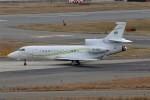 PW4090さんが、関西国際空港で撮影したヤーリアン・ビジネスジェット Falcon 7Xの航空フォト(飛行機 写真・画像)
