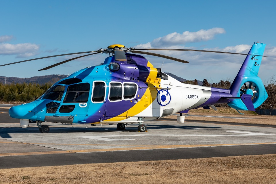 T spotterさんの東邦航空 Eurocopter EC155 (JA08CX) 航空フォト