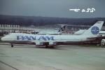 tassさんが、ロンドン・ガトウィック空港で撮影したパンアメリカン航空 747-121の航空フォト(飛行機 写真・画像)