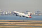 TAK_HND_NRTさんが、羽田空港で撮影したブリティッシュ・エアウェイズ 777-336/ERの航空フォト(飛行機 写真・画像)