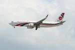 OMAさんが、シンガポール・チャンギ国際空港で撮影したビーマン・バングラデシュ航空 737-8E9の航空フォト(飛行機 写真・画像)