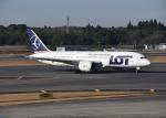 銀苺さんが、成田国際空港で撮影したLOTポーランド航空 787-8 Dreamlinerの航空フォト(飛行機 写真・画像)