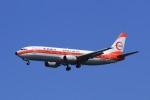 G-BNLYさんが、羽田空港で撮影した日本トランスオーシャン航空 737-446の航空フォト(飛行機 写真・画像)