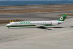 ITM58さんが、中部国際空港で撮影したエバー航空 MD-90-30の航空フォト(飛行機 写真・画像)