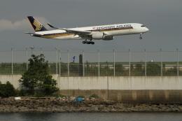 G-BNLYさんが、羽田空港で撮影したシンガポール航空 A350-941の航空フォト(飛行機 写真・画像)
